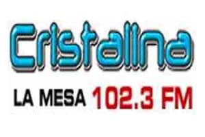 Cristalina Estéreo 102.3 FM - La Mesa