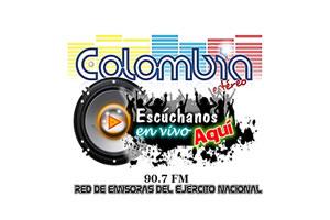 Colombia Stereo 90.7 FM - Alpujarra