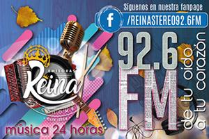 Reina Estéreo 92.6 FM - Chiquinquirá
