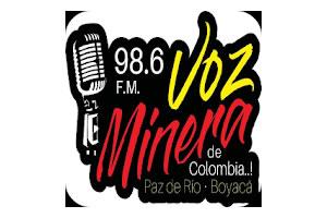 Voz Minera 98.6 FM - Paz de Río