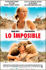 LO IMPOSIBLE - THE IMPOSSIBLE