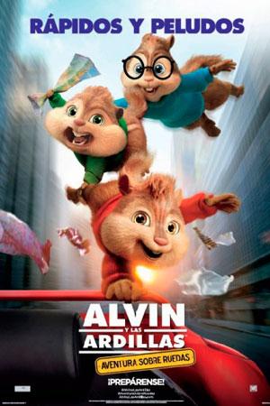ALVIN Y LAS ARDILLAS: AVENTURA SOBRE RUEDAS - Alvin and the Chipmunks: The Road Chip