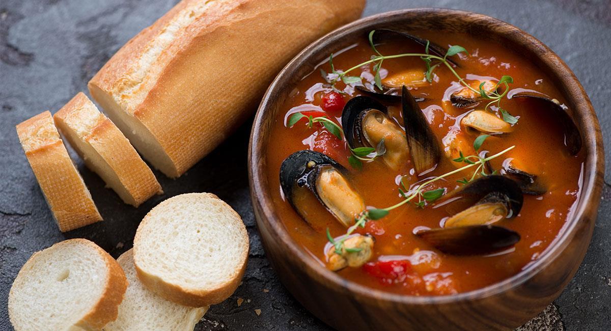 Mejillones con pimientos (Tiberios)