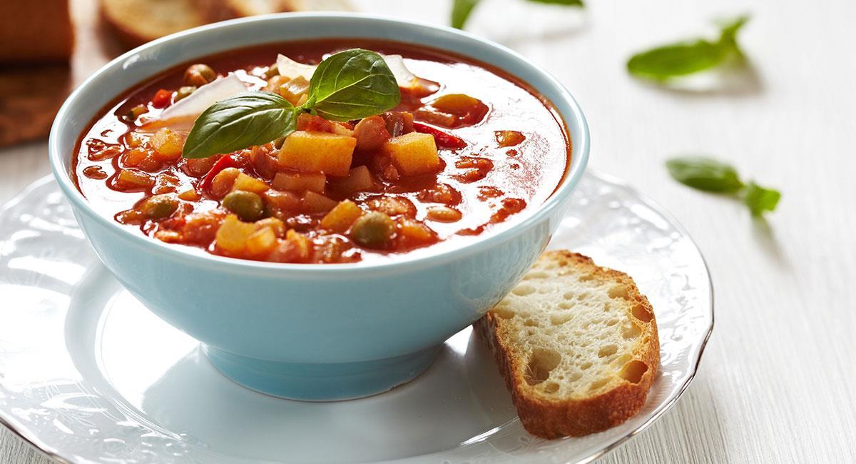Sopa de minestrón