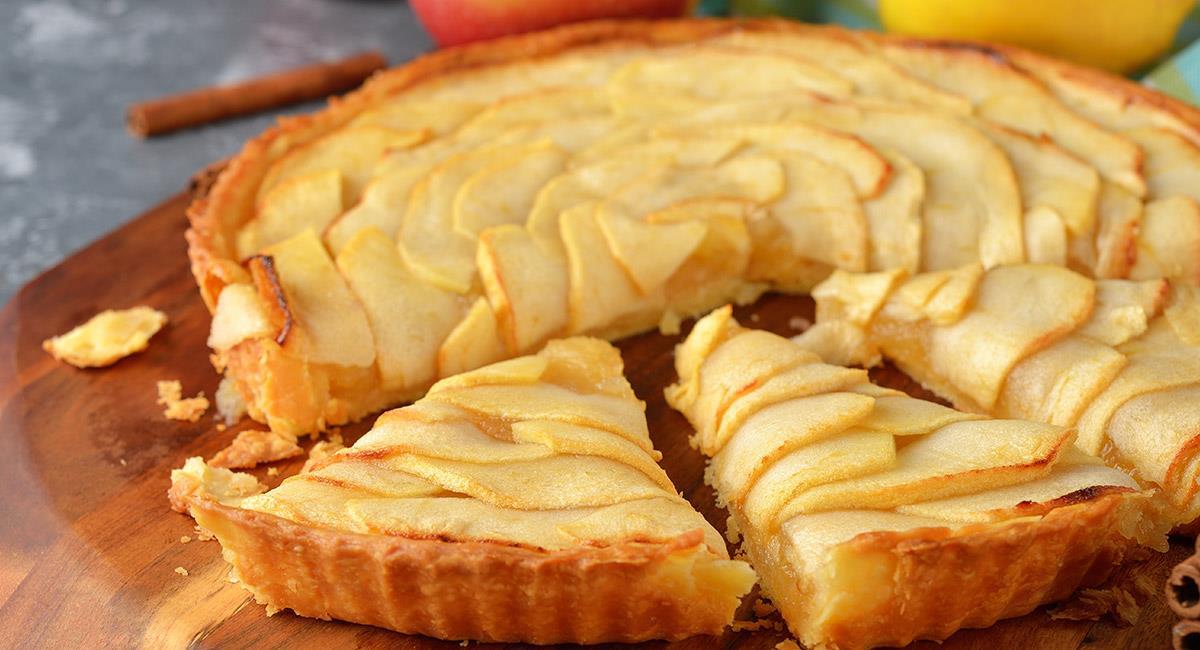 Tarta de manzana a la francesa