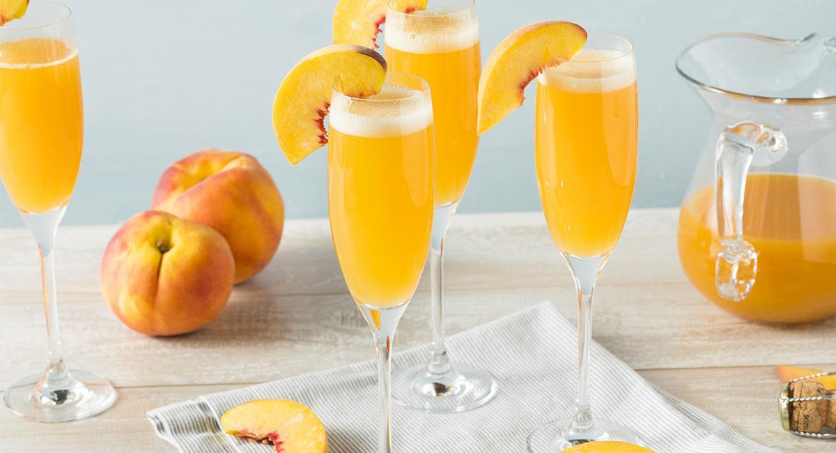 Champagne al durazno