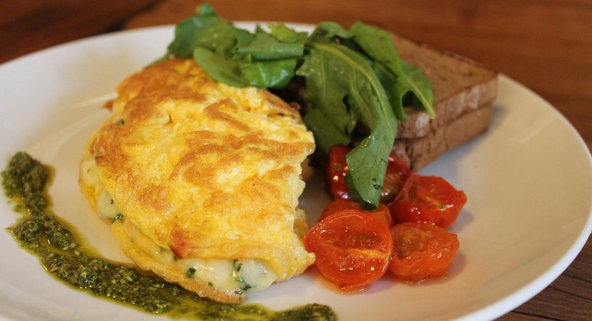 Omelette relleno