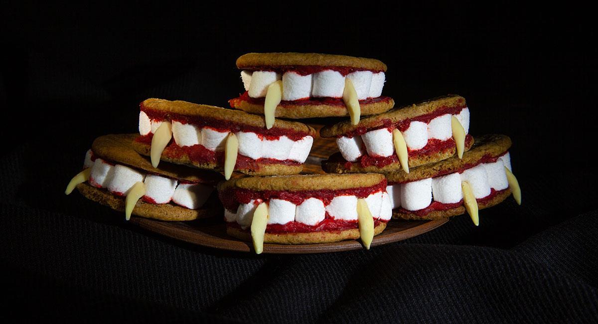 Galletas de vampiro