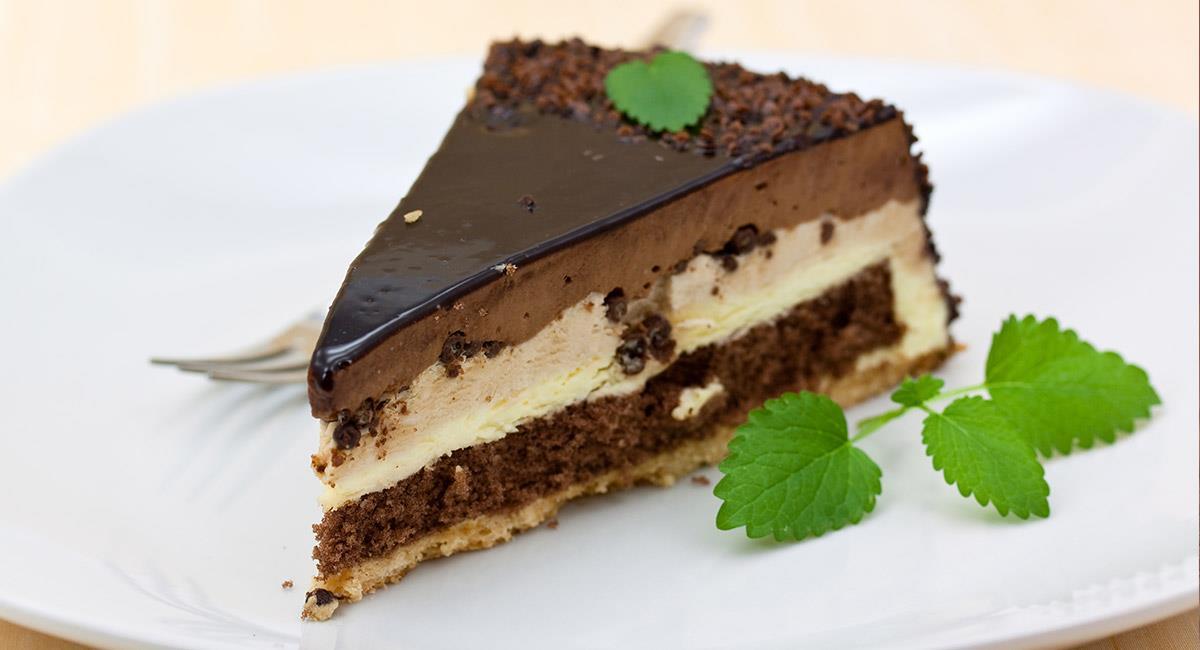 Mousse de chocolate crocante