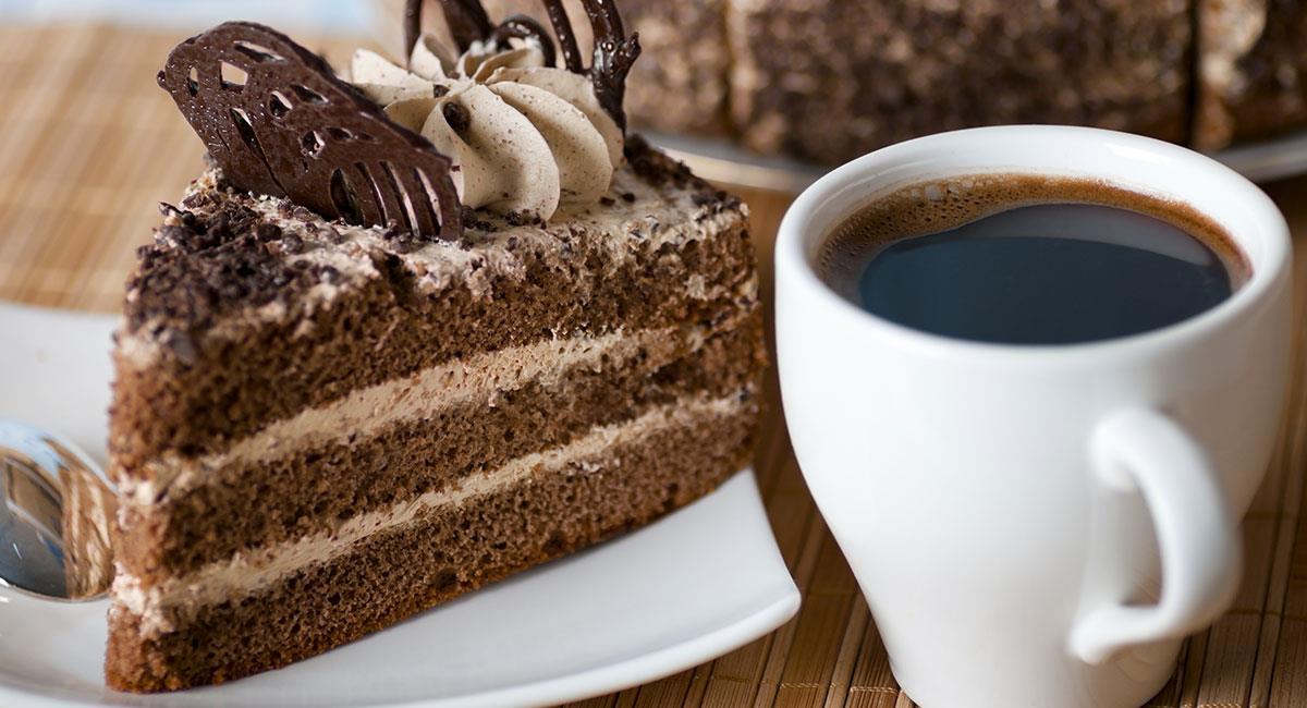 Pastel de café