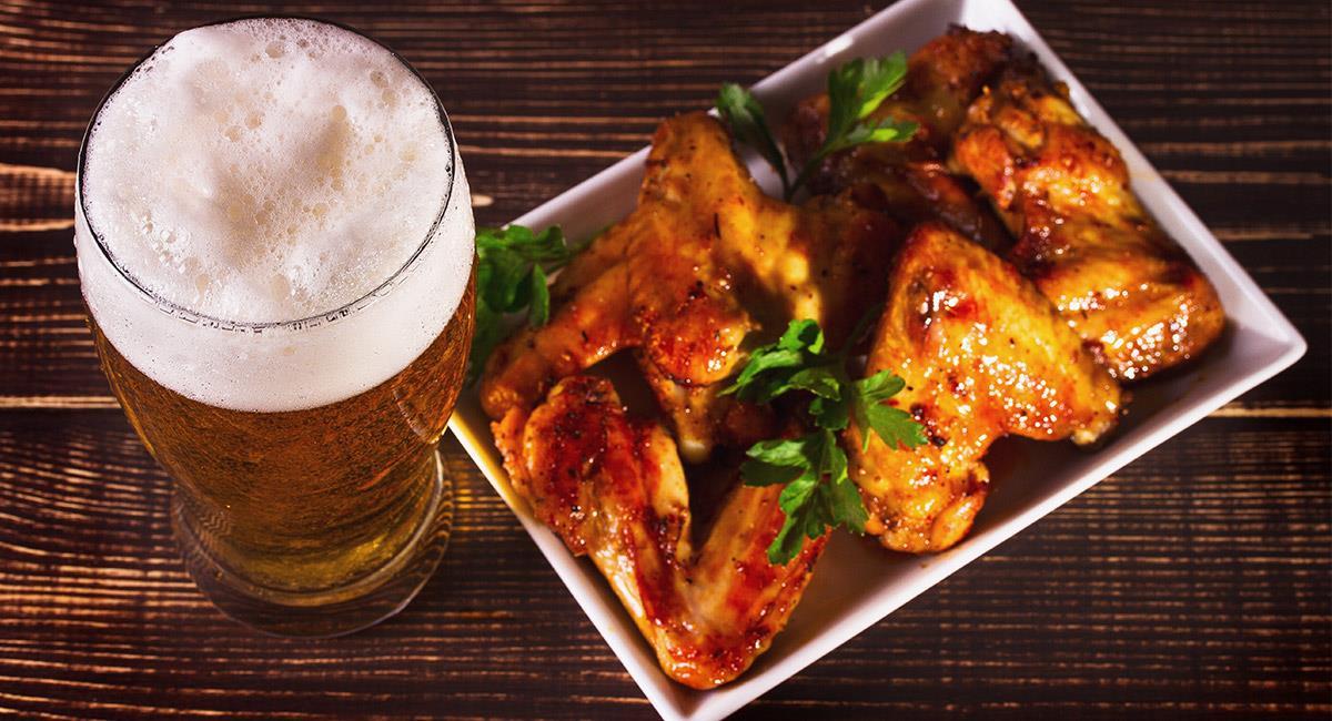 Alistas de pollo a la cerveza
