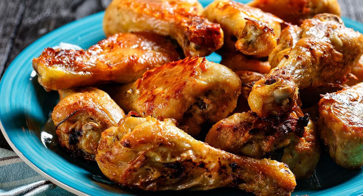 Colombinas de pollo BBQ