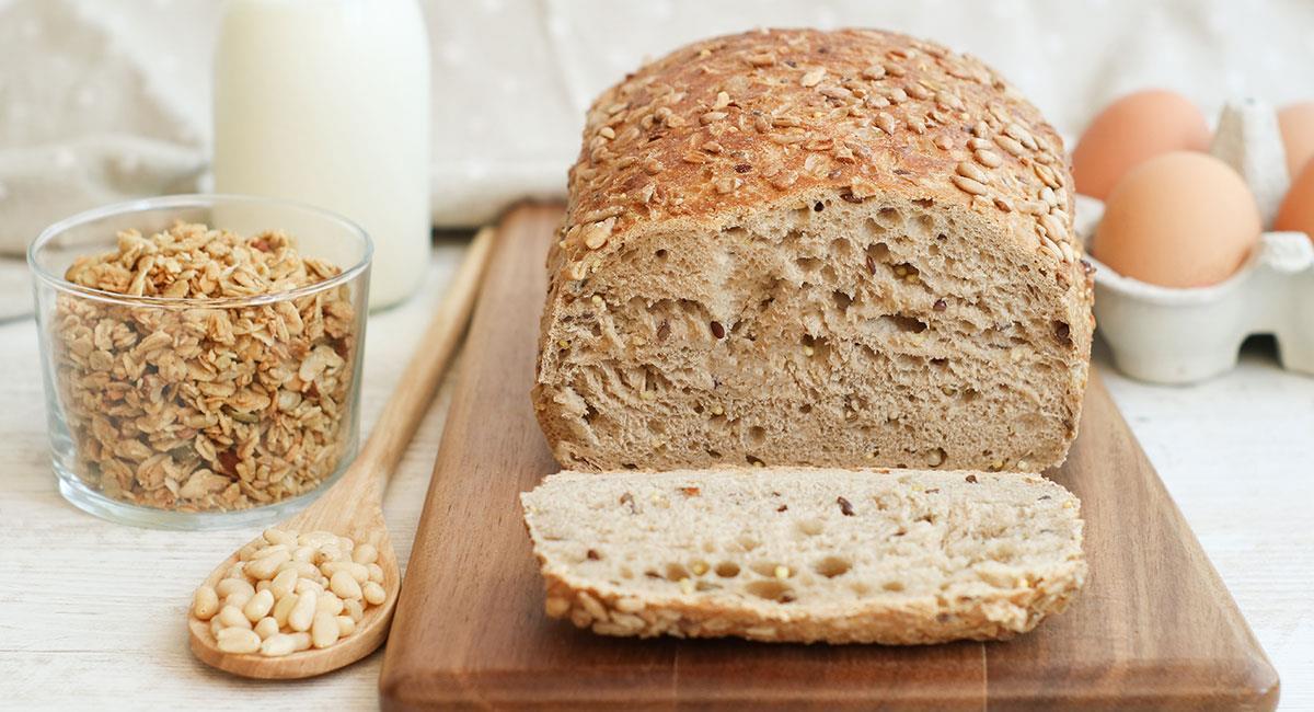 Pan de quinua y arroz