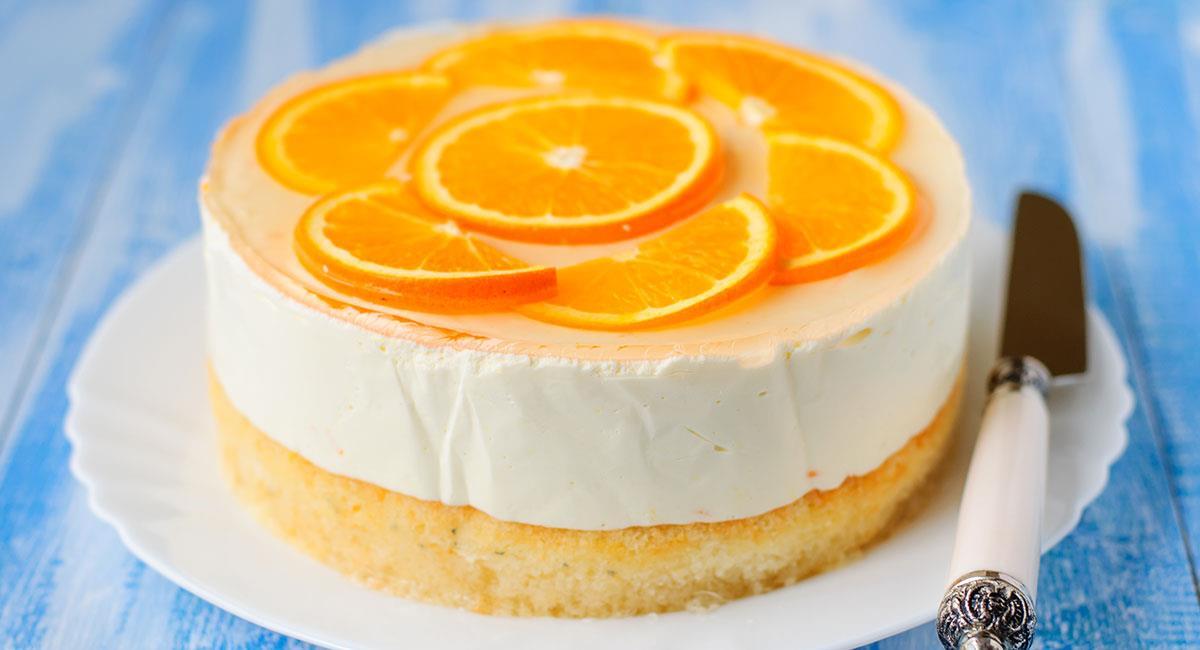 Soufflé ilusión de naranja