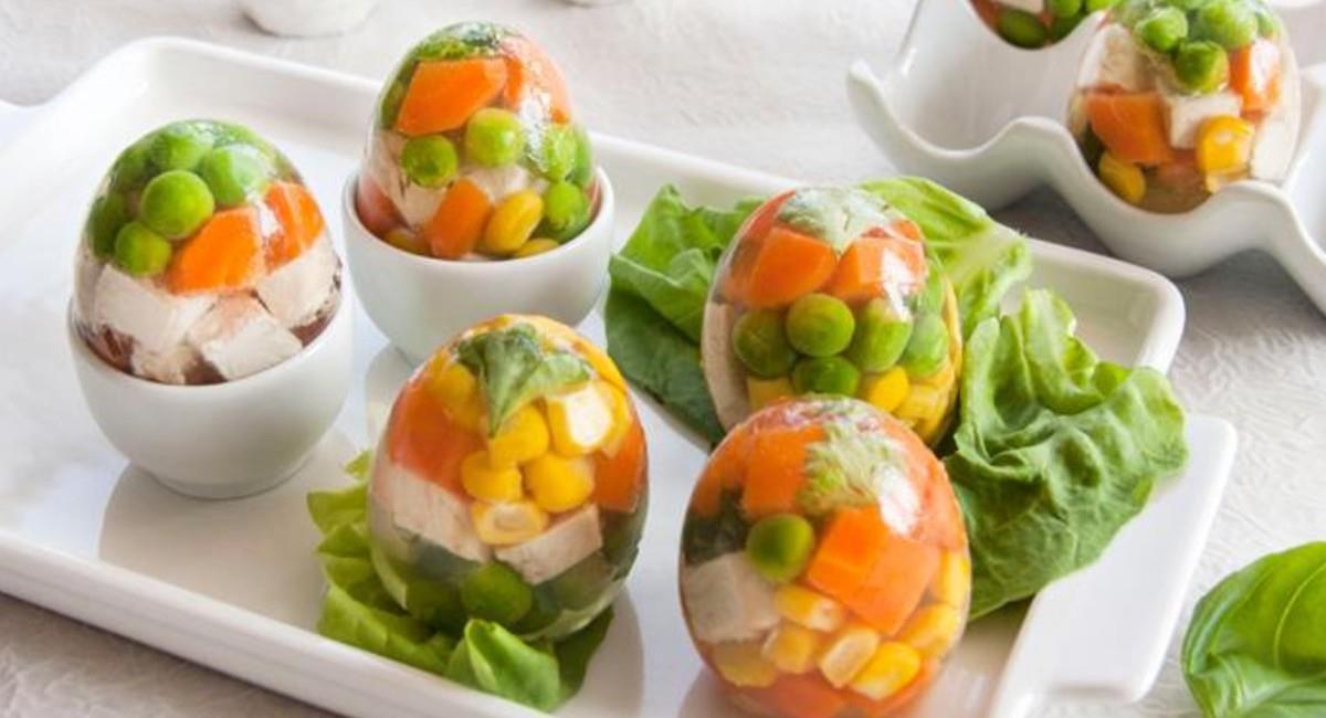 Gelatinas de vegetales