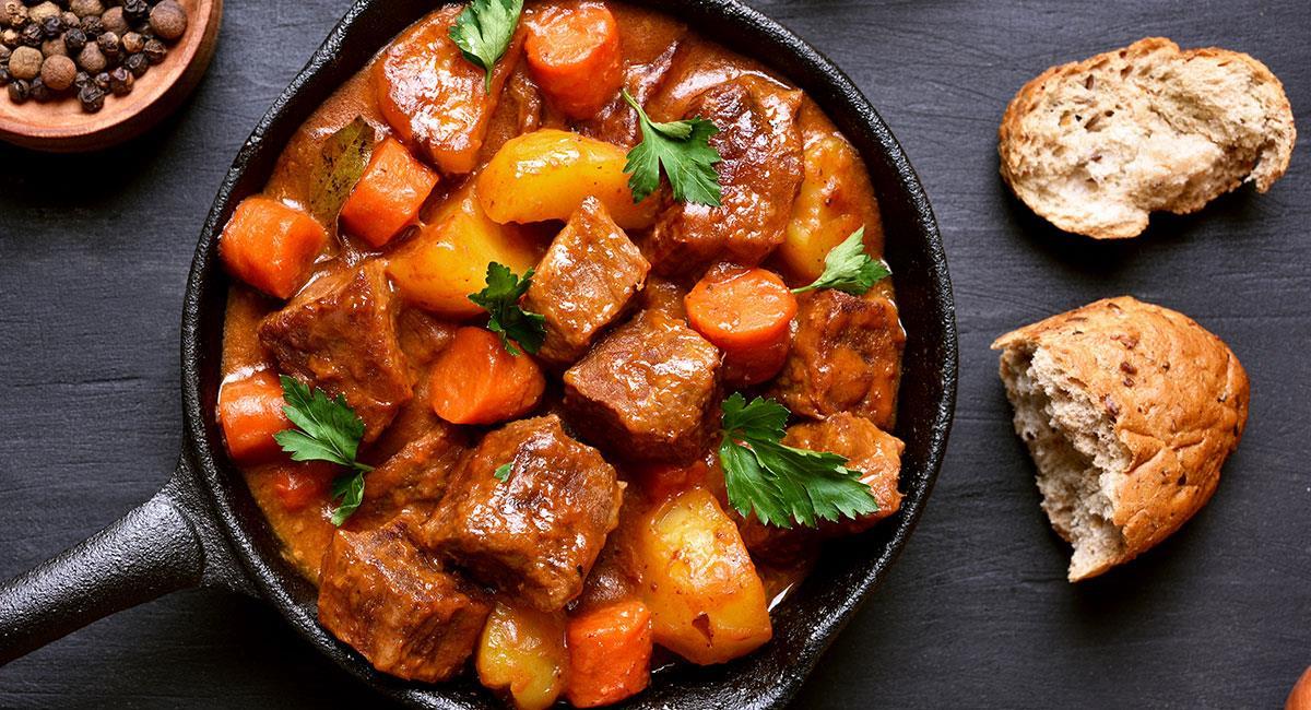 Goulash con verduras
