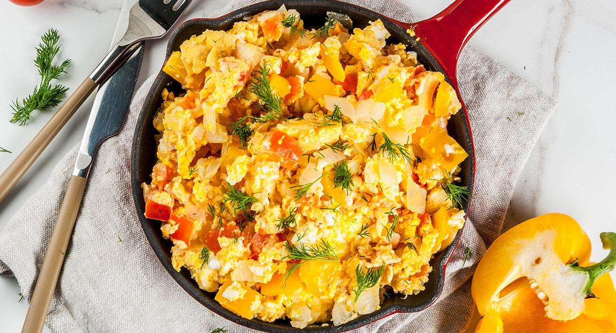 Huevos pericos colombianos