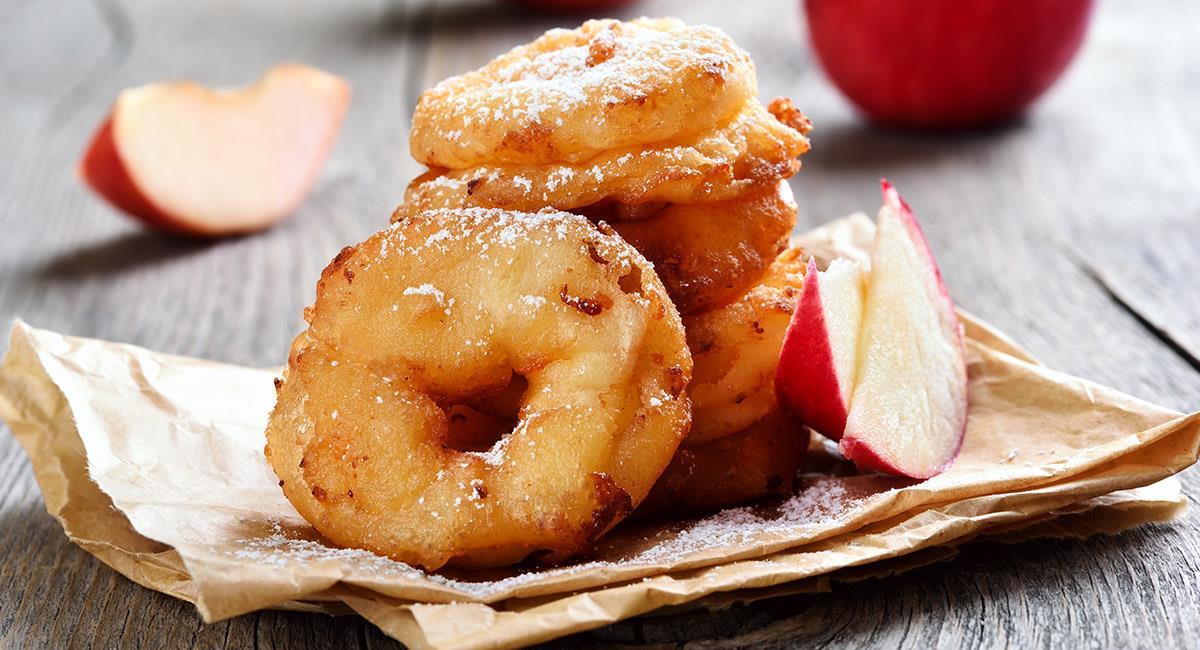 Anillos de manzana