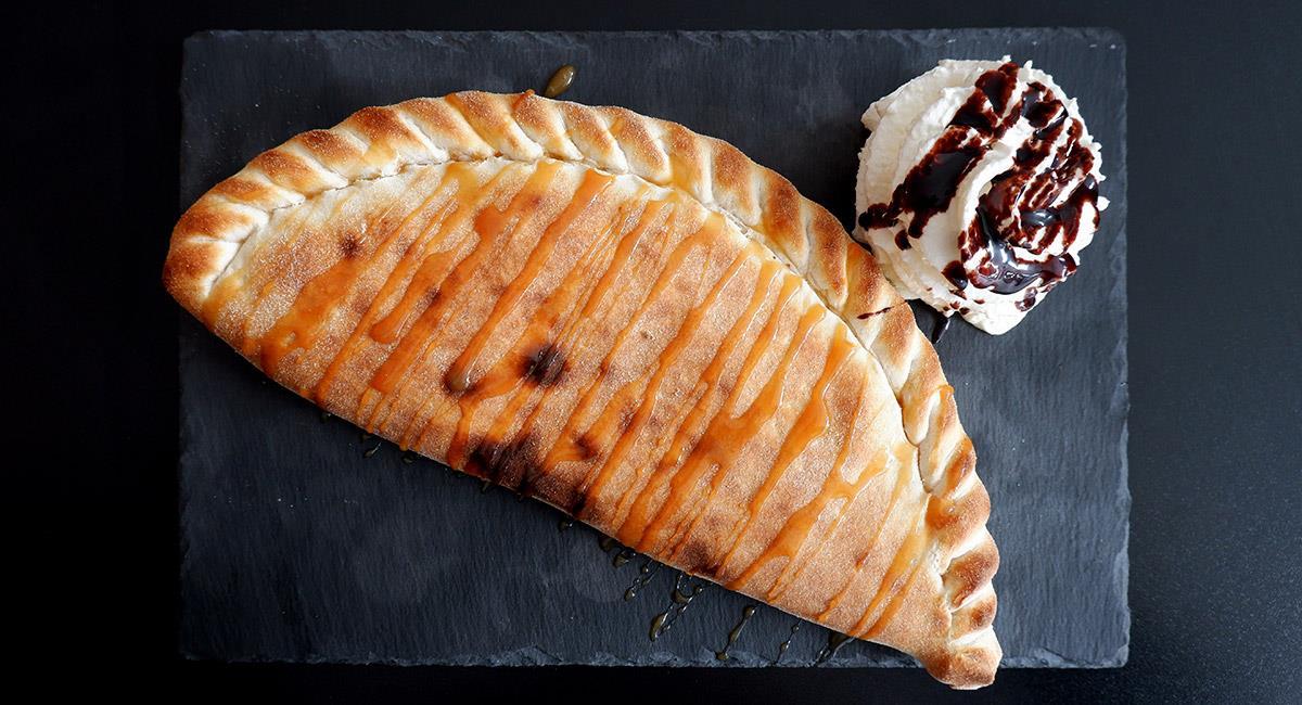 Empanada de nutella y queso crema
