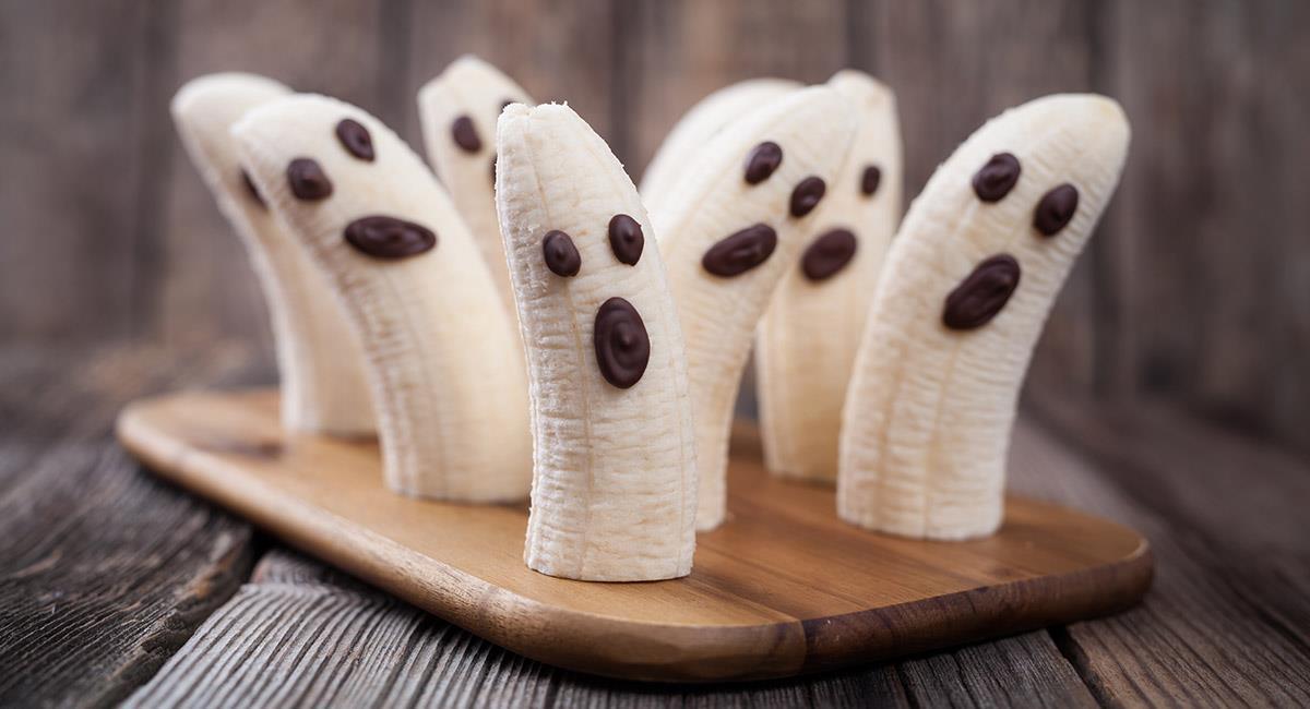 Bananos de fantasmas dulces