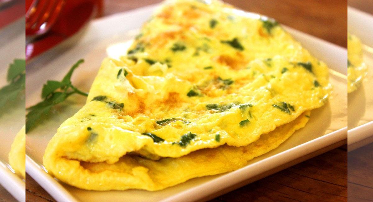 Tortilla de huevo de peta: Plato típico de Beni, Bolivia