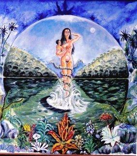 Bachue Y La Creación Del Mundo Mitos Folclor Y Tradiciones