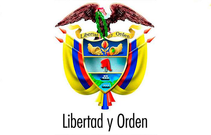 Escudo Nacional Simbolos Simbolos Y Emblemas Colombianos