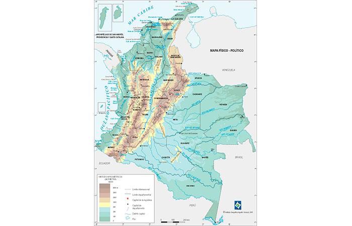 Hidrografa geografa historia de colombia colombia info principales ros de colombia thecheapjerseys Choice Image