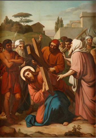 IV Estación - Viacrucis para rezar en Semana Santa