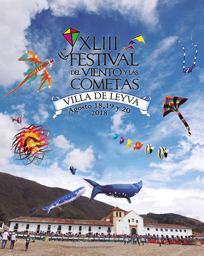 Festival del viento y las cometas Villa de Leiva