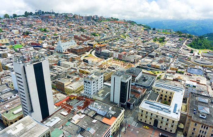 Centro de Manizales Colombia