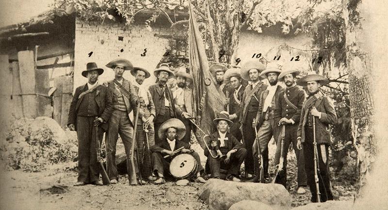 Rozzo, Guerrilla liberal de Zipaquirá durante la Guerra de los Mil Días, h. 1901.