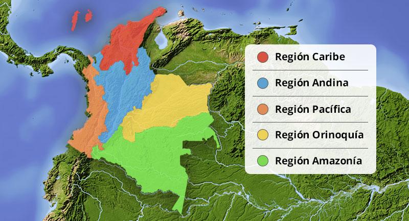 Regiones - Colombia