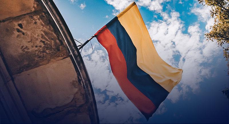 Bandera de Colombia - Shutterstock