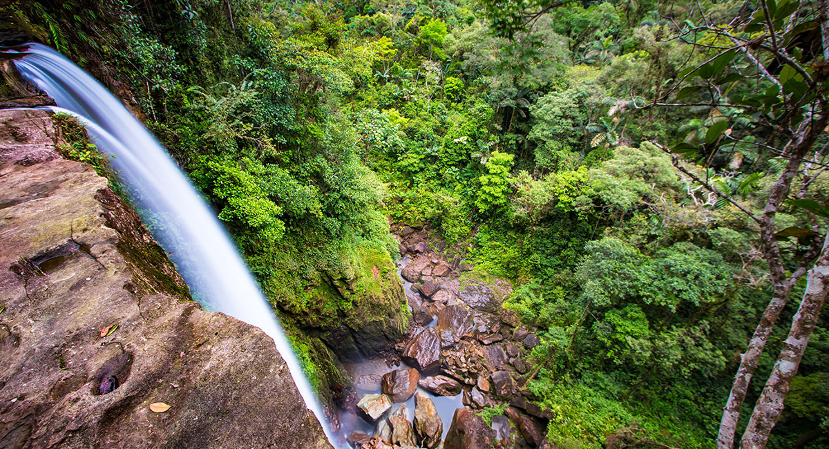 Cascada en el Amazonas - Shutterstock
