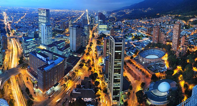 Ciudad de Bogotá - Shutterstock
