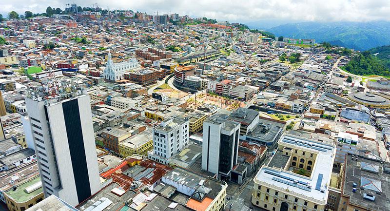 Ciudad de Manizales - Shutterstock