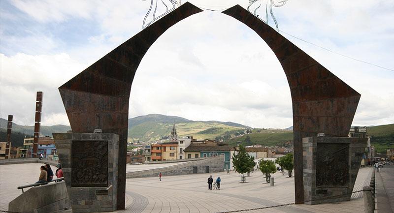 Catedral del Rosario en el centro de Pasto - Shutterstock