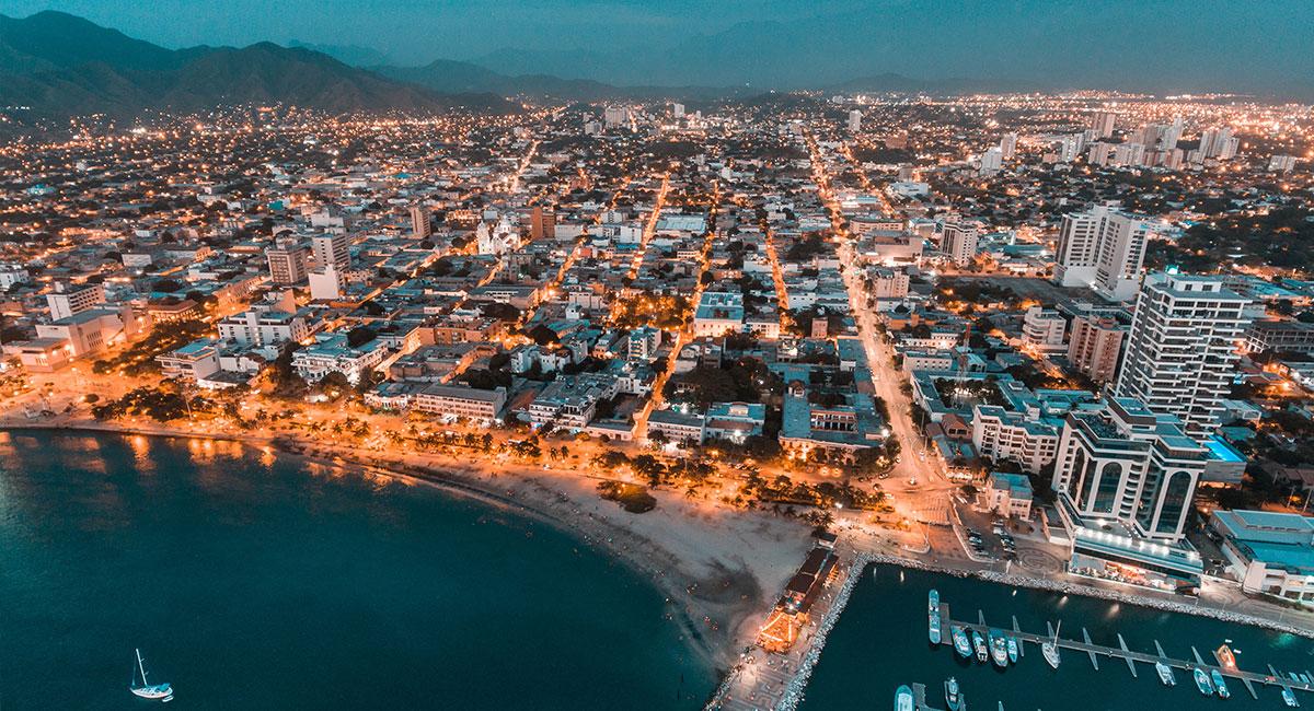Ciudad de Santa Marta - Shutterstock