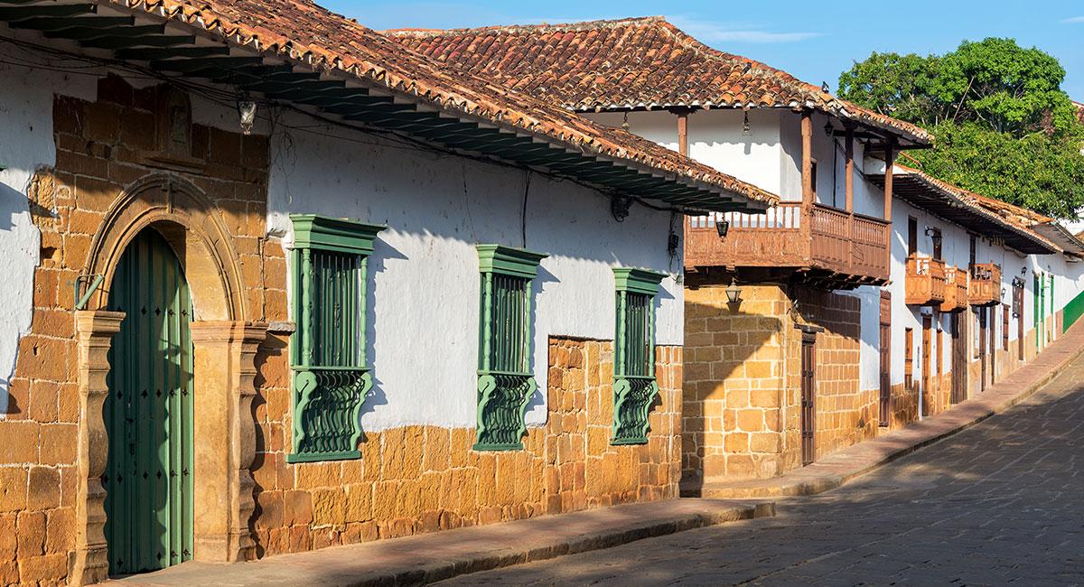 Casas coloniales en Barichara Santander - Shutterstock