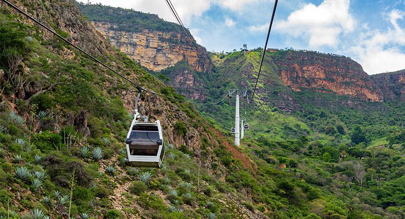 El Teleférico en el Cañon del Chicamocha en Santander - Shutterstock