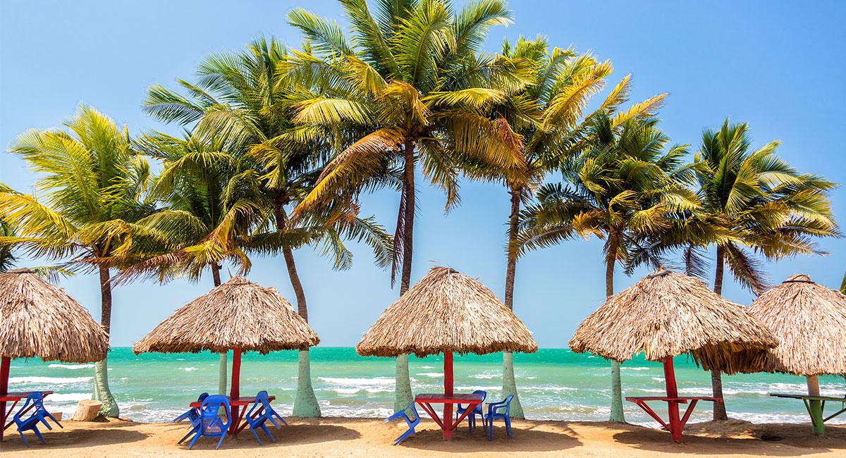 Mar Caribe en Tolu Coveñas - ShutterStock