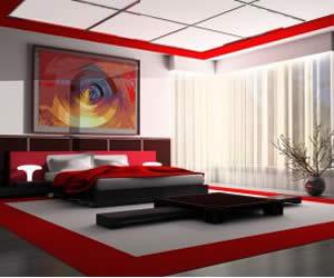 Más amor y pasión en el dormitorio con Feng Shui