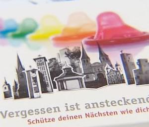 En contra del Sida iglesia católica suiza regala condones