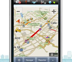 Navegación GPS gratuita para teléfonos inteligentes en Colombia