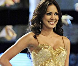 Momentos en la coronación de la reina de Colombia 2010 - 2011