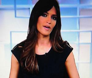 Sara Carbonero reaparece en Tv tras aumentar el tamaño de su pecho