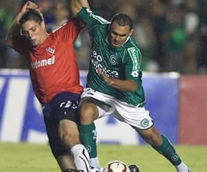 Imágenes de Independiente en Brasil; Fotos: EFE