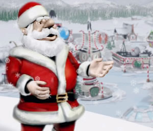 Niños de todo el mundo pueden seguir el viaje de Papá Noel en tiempo real