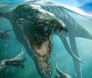 Recreación en 3D del mayor monstruo marino